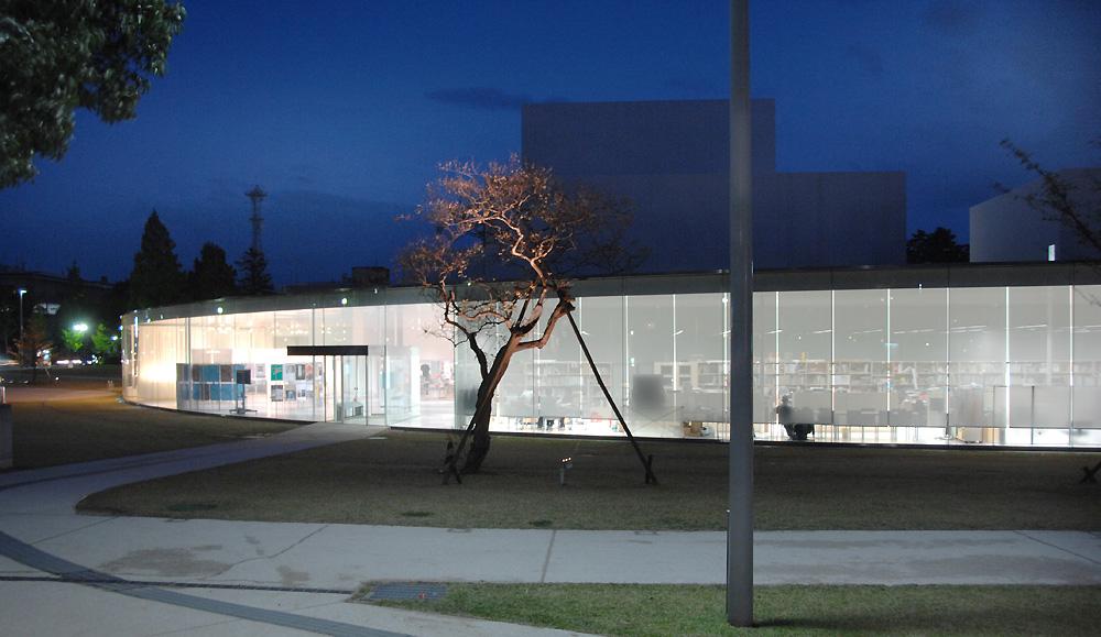21st Century Museum Of Contemporary Art Kanazawa Japan By