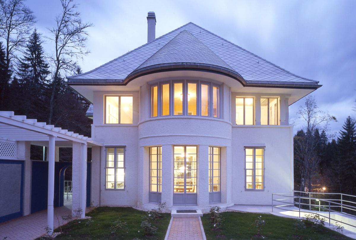 Maison blanche la chaux de fonds by le corbusier for Architecture de la maison blanche