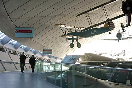 American Air Museum Duxford by Foster