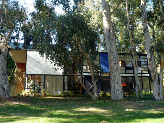 Ray Charles Wife The Eames House, Calif...