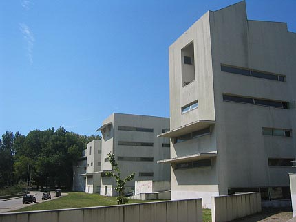 Architecture on Faculty Of Architecture Porto Portugal By Alvaro Siza