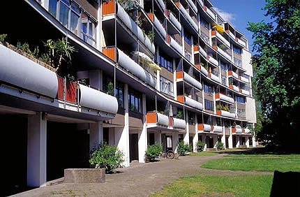 Interbau Apartment House Berlin By Walter Gropius