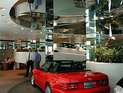 St Paul Park Auto >> Hoffman Auto Showroom New York by Frank Lloyd Wright