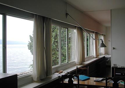 Le Corbusier: Villa Le Lac, Switzerland