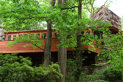 Reisley House Pleasantville New York By Frank Lloyd Wright