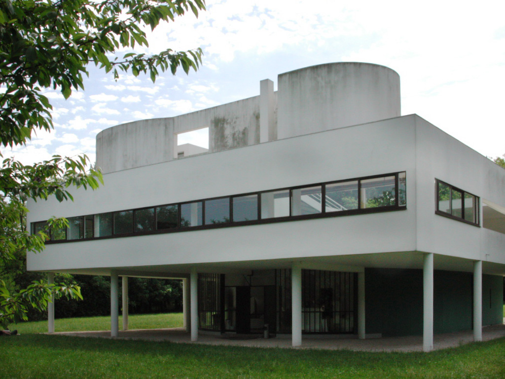 Villa savoye poissy by le corbusier for Poissy le corbusier