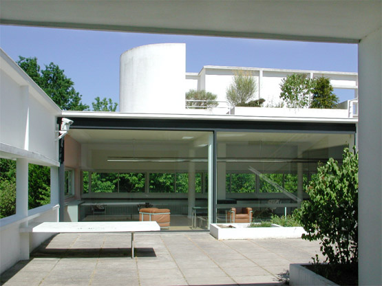 Villa savoye poissy q c arch for Poissy le corbusier