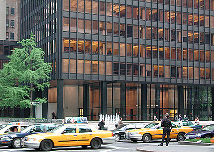 Seagram Building New York by Mies van der Rohe
