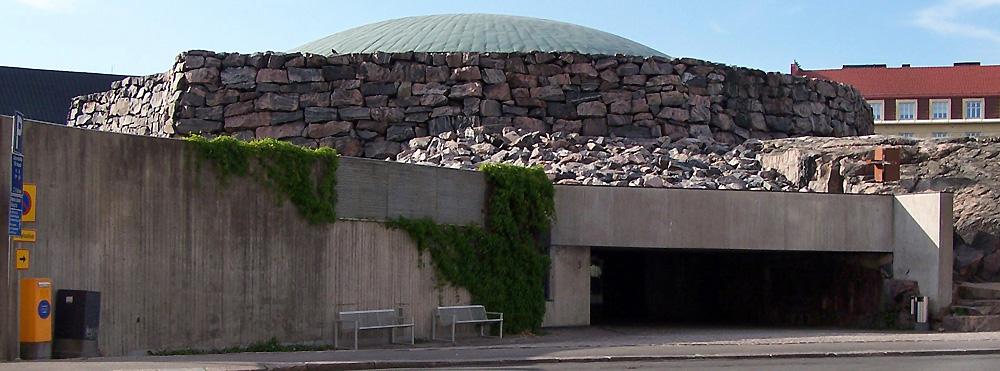 Temppeliaukio Church Helskinki by Timo and Tuomo Suomalainen