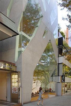 Tod S Omotesando Building Tokyo By Toyo Ito